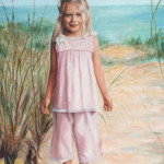 Custom-Paintings-Troy-MI-Girl on Beach