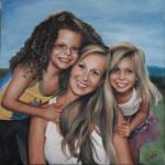 mother & girls